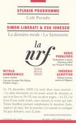 La Nouvelle Revue Française N° 620 (Septembre 2016)