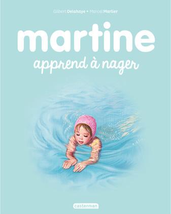 Martine apprend à nager