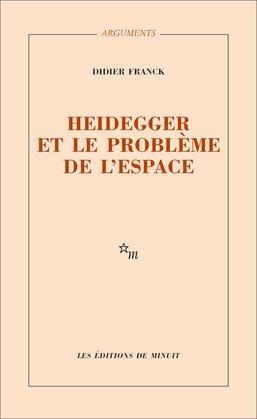 Heidegger et le problème de l'espace