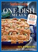 SOUTHERN LIVING One Dish Meals: 125 TopRated Recipes  Skillet Suppers, Pasta, Pot Pies, Soups, Stews & More
