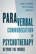 Paraverbal Communication in Psychotherapy