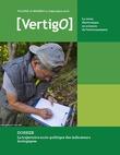 La trajectoire socio-politique des indicateurs écologiques
