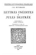 Lettres inédites à Jules Destrée
