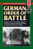 German Order of Battle: 291st-999th Infantry Divisions, Named Infantry Divisions, and Special Divisions in WWII