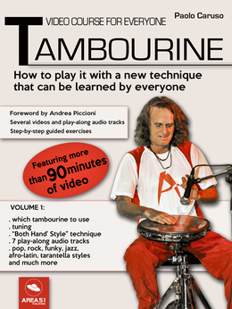 Video course for everyone tambourine Volume 1
