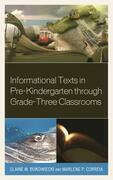 Informational Texts in Pre-Kindergarten through Grade-Three Classrooms