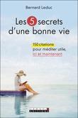 Les 5 secrets d'une bonne vie