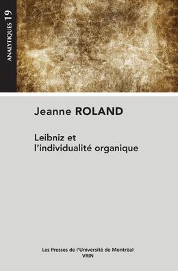 Leibniz et l'individualité organique