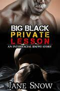 Big Black Private Lesson (Interracial Black M / White F Erotic Tale)