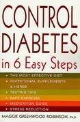 Control Diabetes in Six Easy Steps