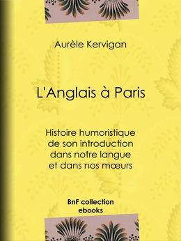 L'Anglais à Paris