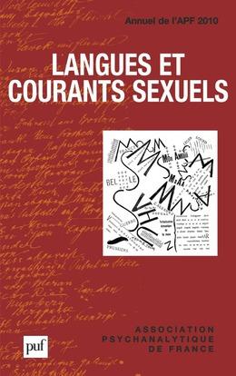 Langues et courants sexuels. Annuel 2010 - APF