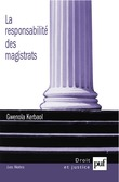 La responsabilité des magistrats