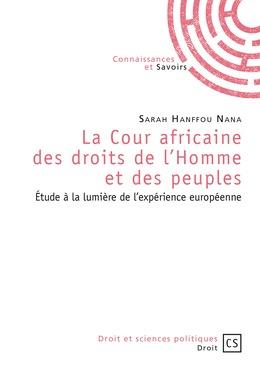 La Cour africaine des droits de l'Homme et des peuples