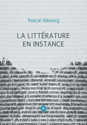 La littérature en instance