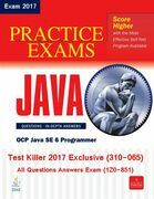 Killer Test SCJP 310-065 (Exam 1Z0-851) Exclusive 2017