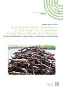 Étude de l'effet de la consommation du bois énergie sur la dynamique du peuplement forestier de la Mangrove