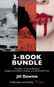 Moretti and Falla Mysteries 3-Book Bundle: Daggers and Men's Smiles / A Grave Waiting / Blood Will Out