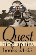 Quest Biographies Bundle - Books 21-25: Louis Riel / James Wilson Morrice / Vilhjalmur Stefansson / Robertson Davies / James Douglas