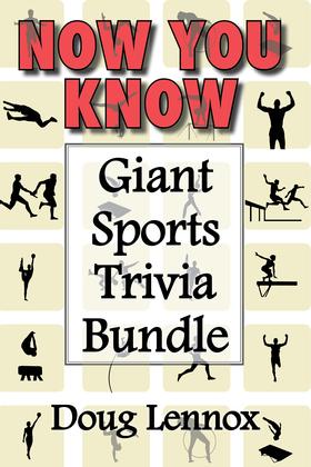 Now You Know — Giant Sports Trivia Bundle
