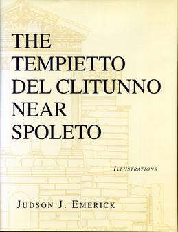 The Tempietto del Clitunno near Spoleto