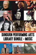Dundurn Performing Arts Library Bundle - Musicians: Opening Windows / True Tales from the Mad, Mad, Mad World of Opera / Lois Marshall / John Arpin /