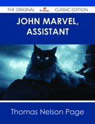 John Marvel, Assistant - The Original Classic Edition
