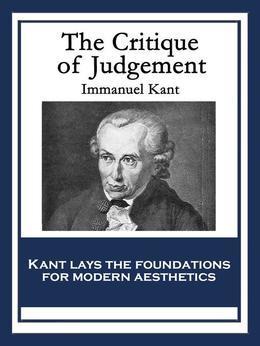The Critique of Judgement