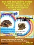 Box Set Children's Books: Sea Turtles Picture Book & Weird Sea Turtles Facts + Snake Pictures Book For Kids