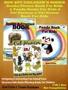 Animals Books For Kids: Snakes, Pandas & Cat Humor