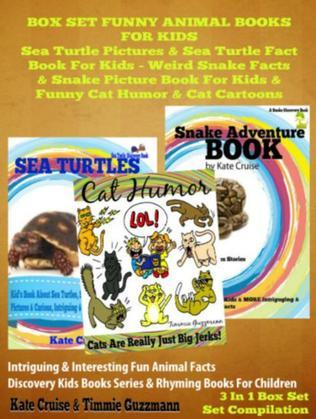 Sea Turtle Pictures & Sea Turtle Fact Book For Kids - Weird Snake Facts & Snake Picture Book For Kids & Cat Humor