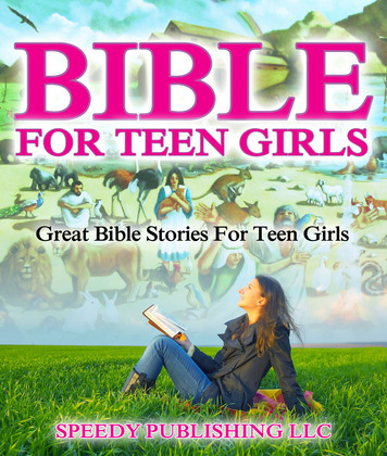 Bible For Teen Girls