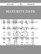 Maturity Date 63 Success Secrets - 63 Most Asked Questions On Maturity Date - What You Need To Know