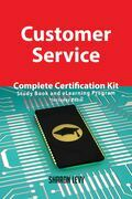Customer Service Complete Certification Kit - Study Book and eLearning Program