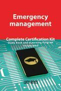Emergency management Complete Certification Kit - Study Book and eLearning Program