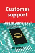 Customer support Complete Certification Kit - Study Book and eLearning Program