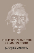 The Person and the Common Good