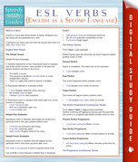 ESL Verbs (English as a Second Language) (Speedy Study Guides)