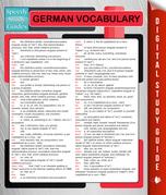 German Vocabulary (Speedy Language Study Guides)