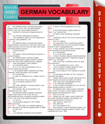 German Vocabulary (Speedy Language Study Guides)