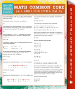 Math Common Core (Algebra for 12th Grade) (Speedy Study Guides)