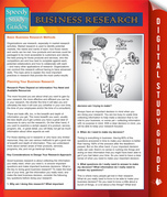 Business Research (Speedy Study Guides)
