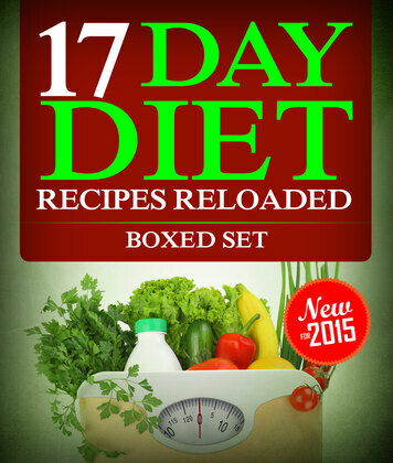 17 Day Diet Recipes Reloaded (Boxed Set)