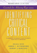 Identifying Critical Content: Classroom Techniques to Help Students Know What is Important