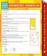 Geometric Formulas (Speedy Study Guide)