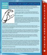 American Sign Language (Speedy Study Guide)