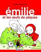 Emilie et les oeufs de Pâques