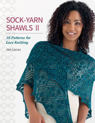 Sock-Yarn Shawls II: 16 Patterns for Lace Knitting