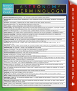 Astronomy Terminology: Speedy Study Guides
