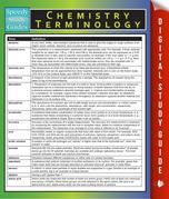 Chemistry Terminology: Speedy Study Guides